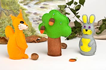 Juguetes para decorar hechos a mano peluches para regalar souvenir original