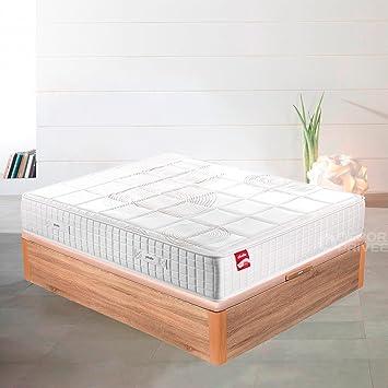 PIKOLIN Colchón Luxe Hybrid System® Progression Visco® (180_x_200_cm) 30 cm: Amazon.es: Hogar