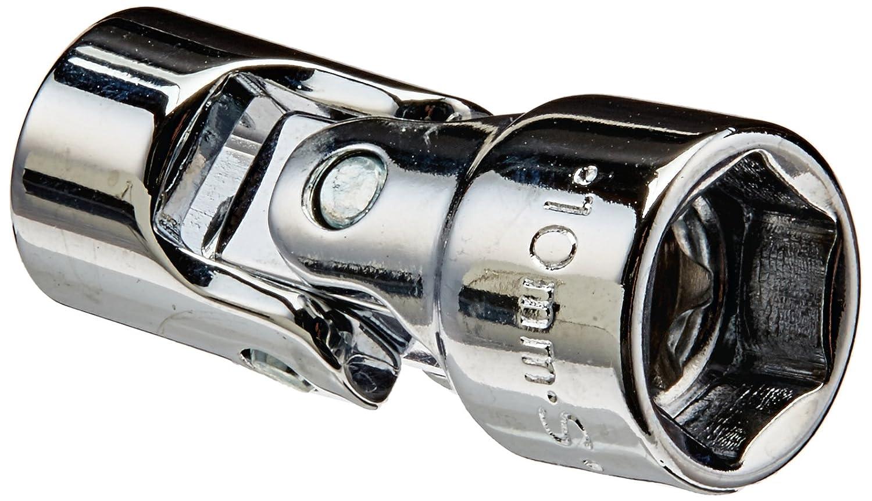 SK Hand Tool 43810 6 Point 1/4-Inch Drive Flex Socket, 10mm, Chrome