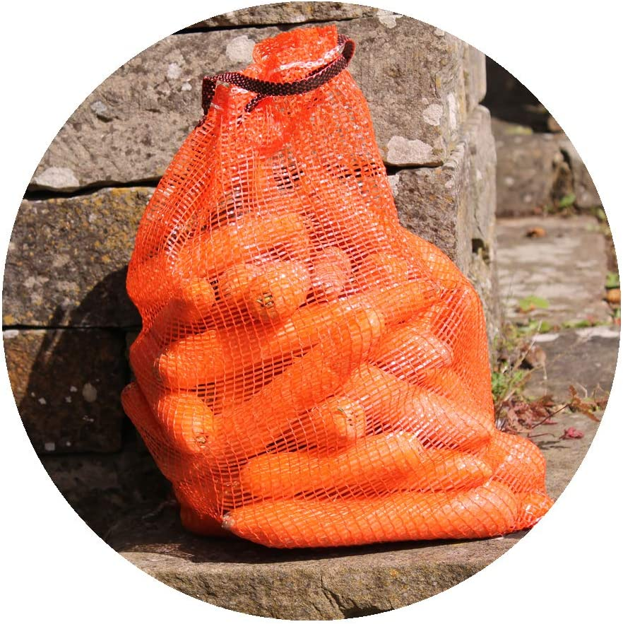 Vegetable Nets 32 x 48cm 3 Gardening-Naturally Onion Storage Net Holds approx 5kg small