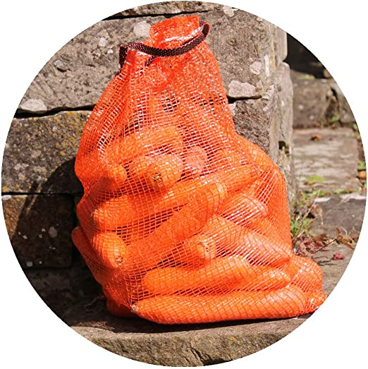 3 small Gardening-Naturally Onion Storage Net Vegetable Nets 32 x 48cm Holds approx 5kg