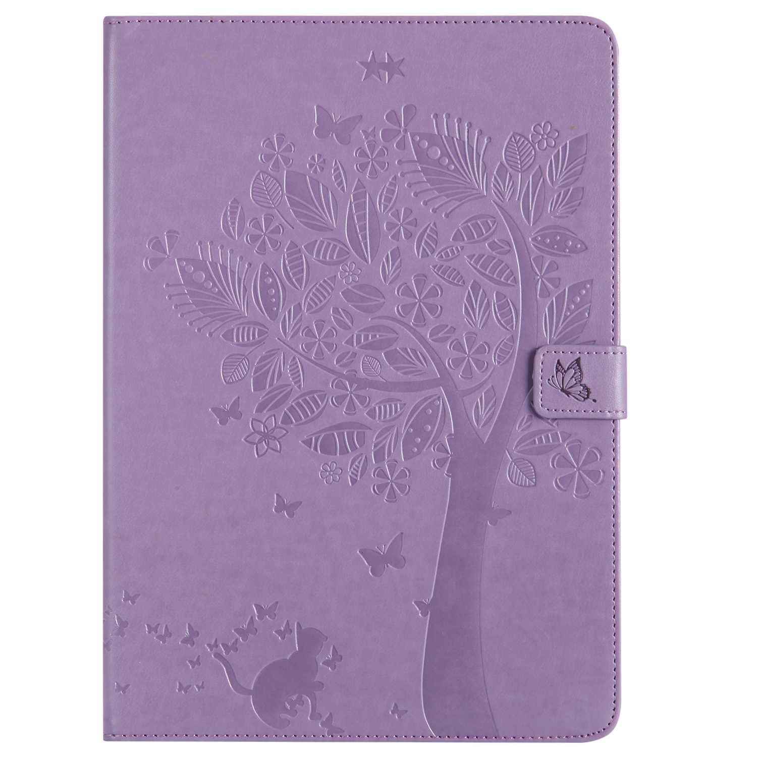 Bear Village iPad Pro 10.5 Inch Case, Leather Magnetic Case, Fullbody Protective Cover with Stand Function for Apple iPad Pro 10.5 Inch, Purple by Bear Village