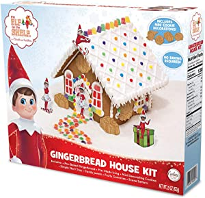 The Elf on the Shelf An Elfs Story Gingerbread House Kit by Cookies United
