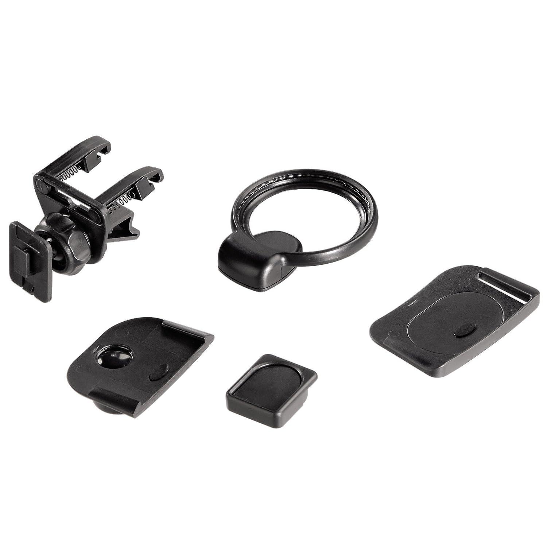 Hama Adapter-Set inkl. Lü ftungslamellen-Halterung fü r TomTom 00093724 Halterungen Navigationszubehör