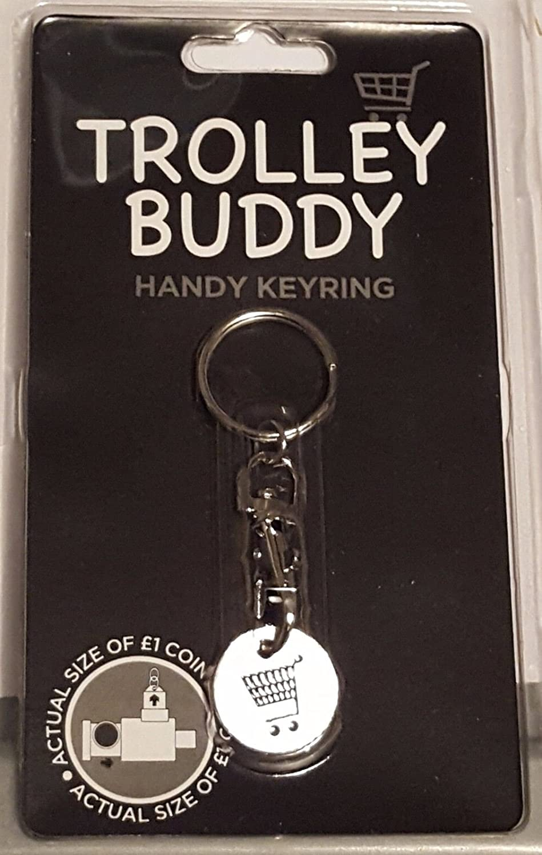 Carro Llavero £1 Reino Unido carro moneda Buddy carro ...