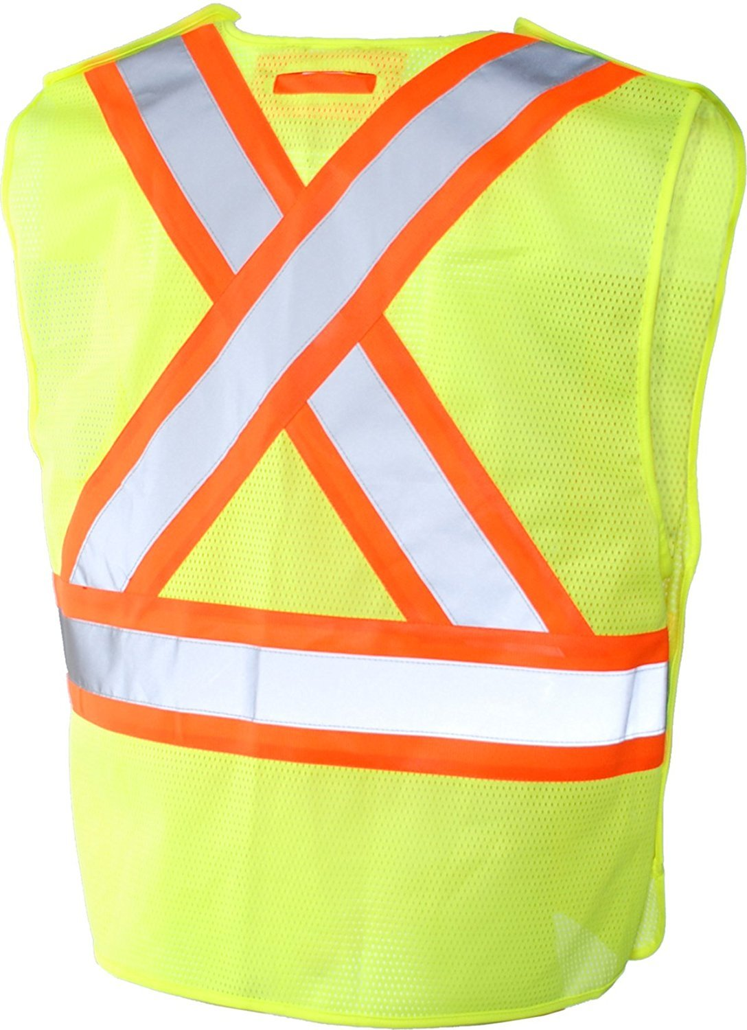 3 Pack Large//X-Large BBH 116523YLLXL//3 Yellow Terra 11-6523-YLLXL//3 High-Visibility 5 Point Tear Away Reflective Safety Vest