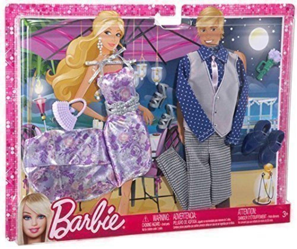 Barbie /& Ken Dating Mode f/ür Sie /& Ihn in einem Set 3fach sort