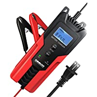 Deals on Gooloo 6/12V 6A Smart Battery Charger and Maintainer BC01