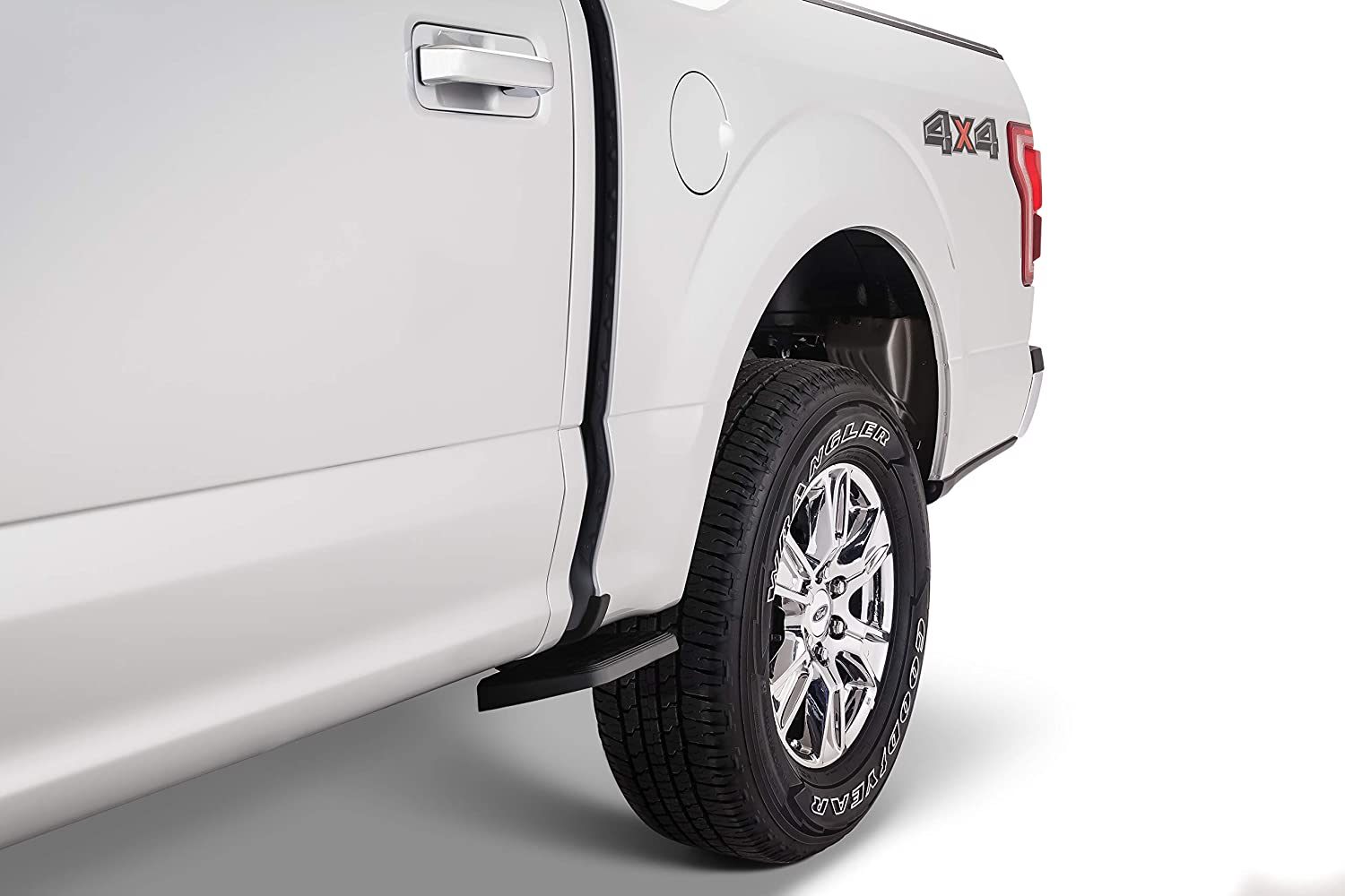 AMP Research 75415-01A BedStep2 Retractable Truck Bed Side Step for 2019 Silverado /& Sierra 1500 w//Short Bed