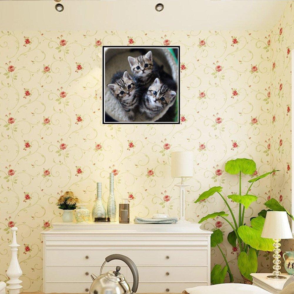 5D Diamond Embroidery Paintings Cat Pattern Rhinestone Pasted DIY Paintings Cute