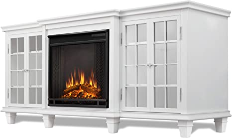 Real Flame Marlowe Fireplace TV Stand