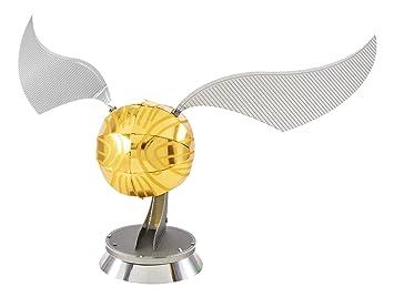 Metal Earth - Fascinations, HARRY POTTER GOLDEN SNITCH Rompecabezas de metal 3D, modelos de