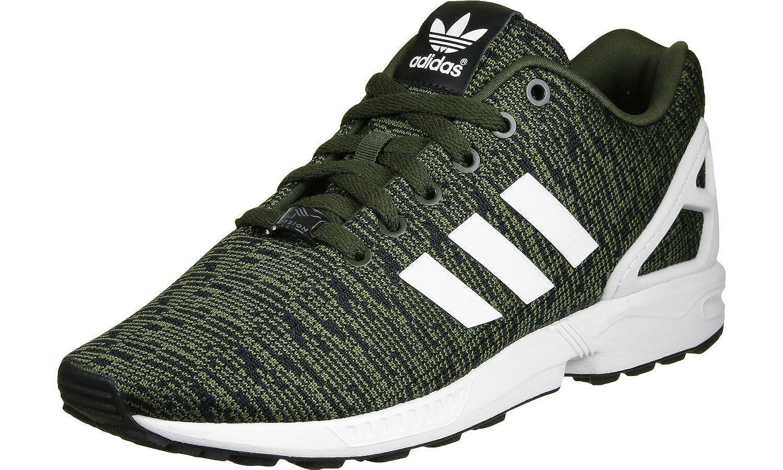 Adidas Originals Women's Zx Flux Women's Training Shoes In Size 37 1/3 Green 6NcZpE5nR