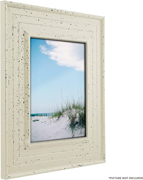 Weathered Off-White Picture Frame Craig Frames Chesapeake 81378600L-2 22 Common Sizes 3 Wide Set of 2