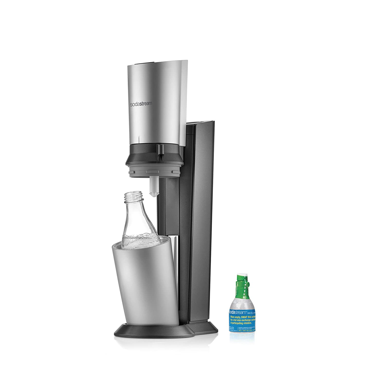 Amazon Sodastream Crystal Sparkling Water Maker Starter Kit