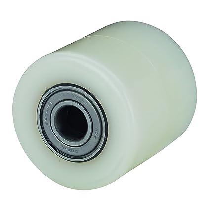 Alex KN - Rodillo para transpaleta (diámetro de 82 mm, carga soportada 650 kg