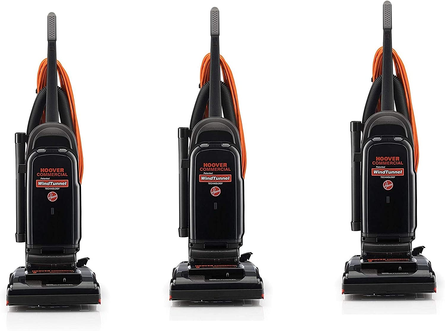 Pack of 3 Hoover Commercial WindTunnel 13 Bagged Upright Vacuum C1703900