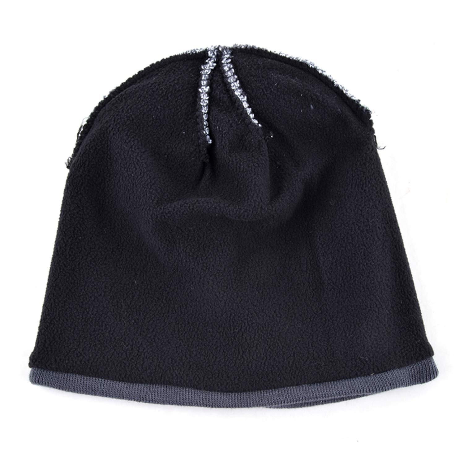 FUZE Unisex Bone Hat Mens Winter Beanie Men Skullies Knitted Wool Beanies Womens Winter Hats