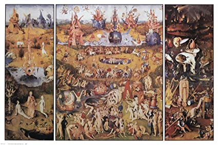 Amazon.com Garden of Earthly Delights by Hieronymus Bosch