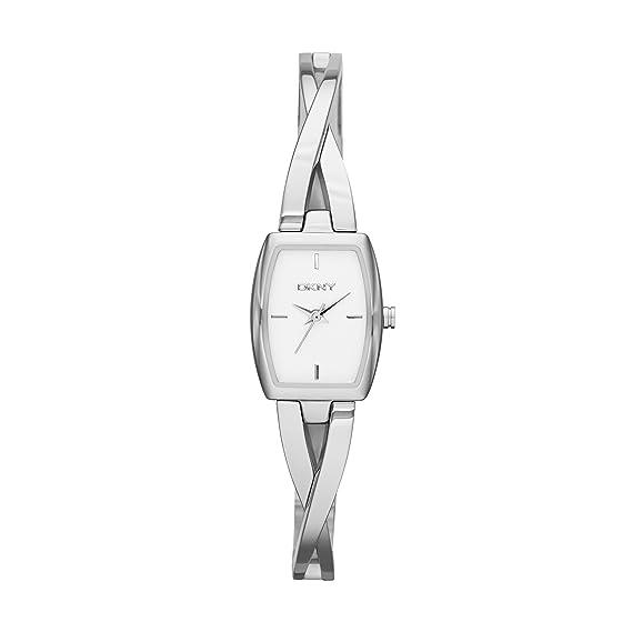 DKNY Reloj analogico para Mujer de Cuarzo con Correa en Acero Inoxidable NY2234: Amazon.es: Relojes