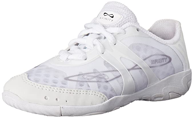 leather perfect shape ebay shoes p cheer white shoe synthetic s rival nfinity infinity upper size