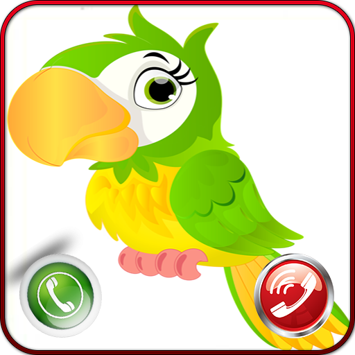 Call From Talking Parrot - New Caller