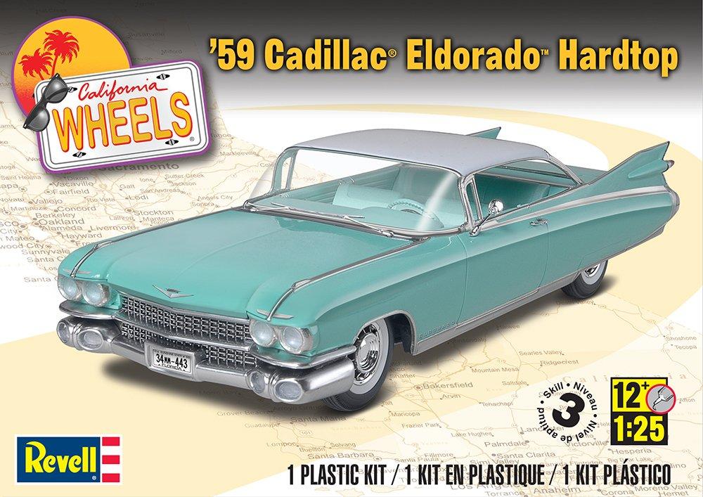 Revellmonogram 59 Cadillac Eldorado Hardtop Model Kit