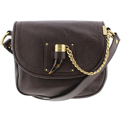 21623c1adf43 MICHAEL Michael Kors James Medium Saddle Bag Coffee  Handbags  Amazon.com