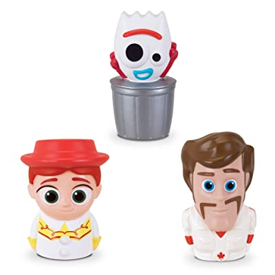 Toy Story Disney Pixar 4 Finger Puppets - 3 Pack - Jessie, Forky, Duke Caboom: Toys & Games