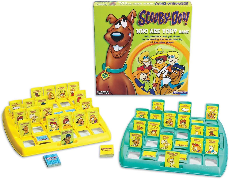 Pressman Scooby Doo - Juego de Mesa quién es quién (en inglés): Amazon.es: Juguetes y juegos