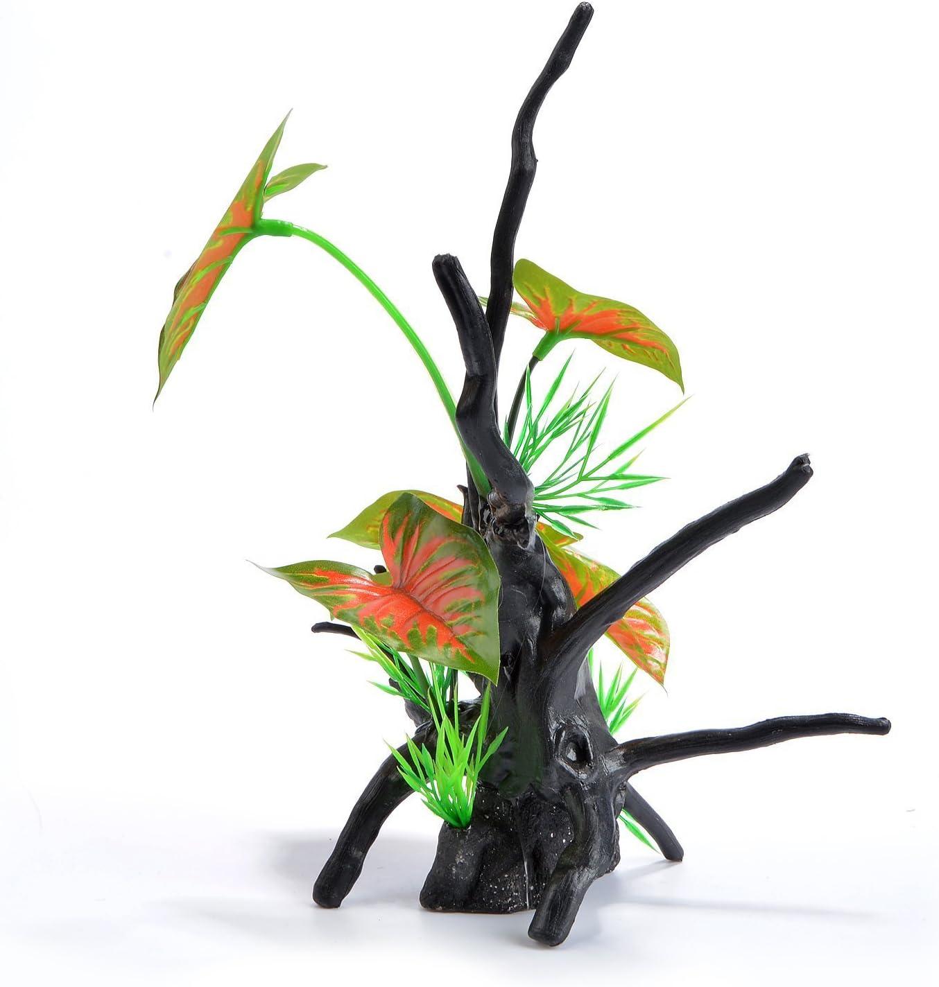 """Saim Aquarium Plastic Dead Branches Tree Root Ornament 9.5"""" Height"""