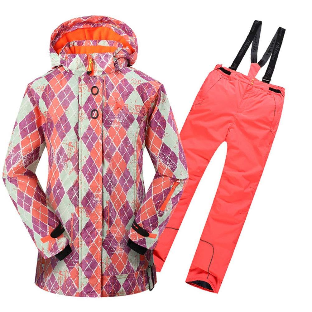 Kids Snowsuit - Set Impermeabile, Impermeabile, Impermeabile, Tuta Invernale Foderata in Pile, Regolabile -Ideale per Il Campeggio in Caso di Frossodo,arancia,XLB07KPRZXZYXXL arancia | Meraviglioso  | Buona Reputazione Over The World  | Intelligente e pratico  | Di Alta Qualità  308070