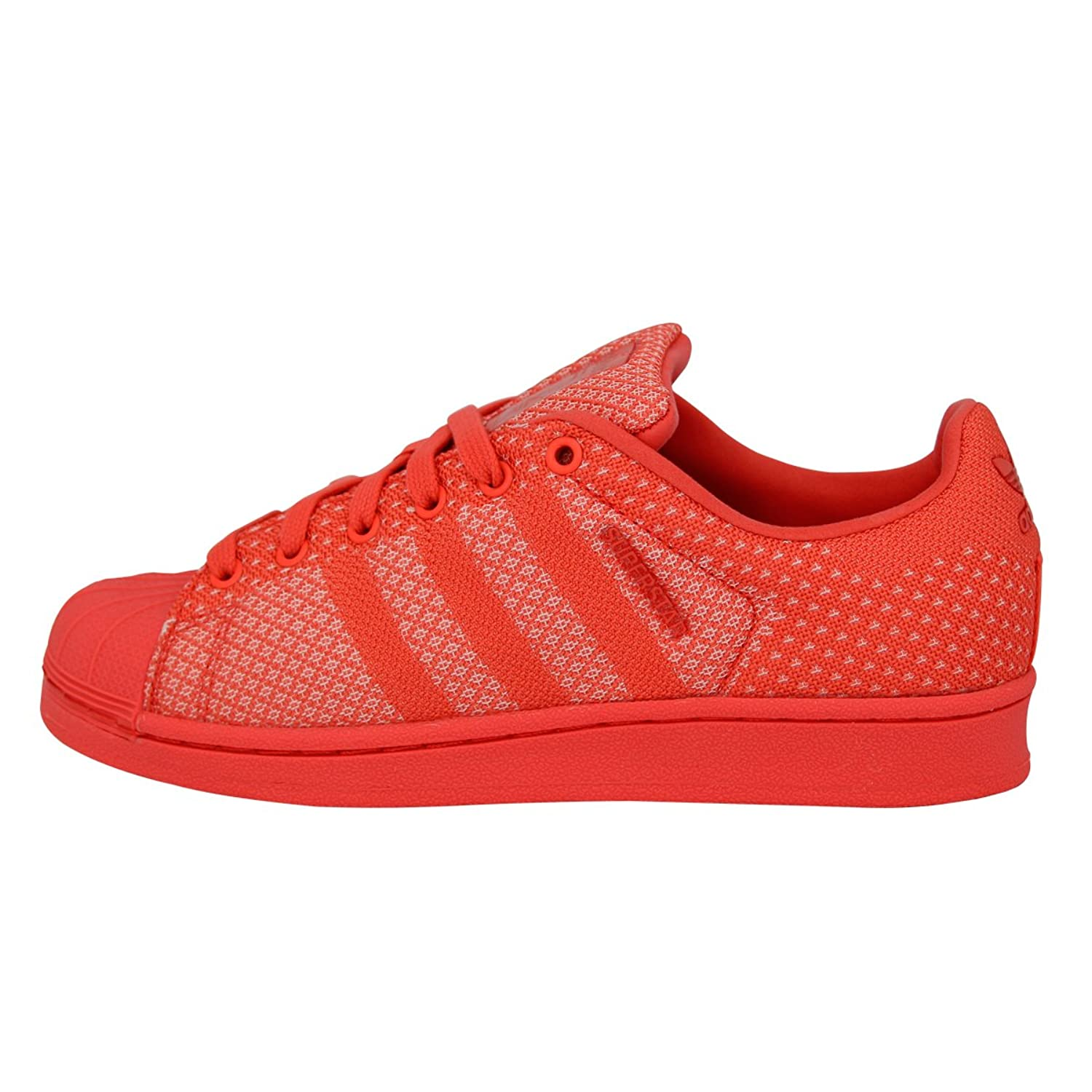 Adidas Originals SUPERSTAR WEAVE Chaussures Mode Sneakers Unisex Rouge pzyI1