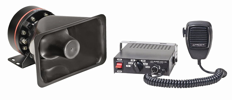 Wolo (4000-2 Alert 80 Watt Electronic Siren and Speaker - 12 Volt Dometic
