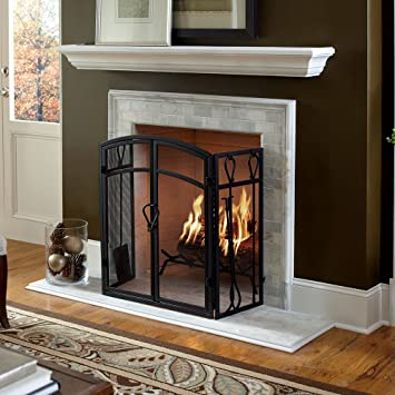 white fireplace mantel shelf. Colton 60 quot  White Fireplace Mantel Shelf Amazon com Home Kitchen