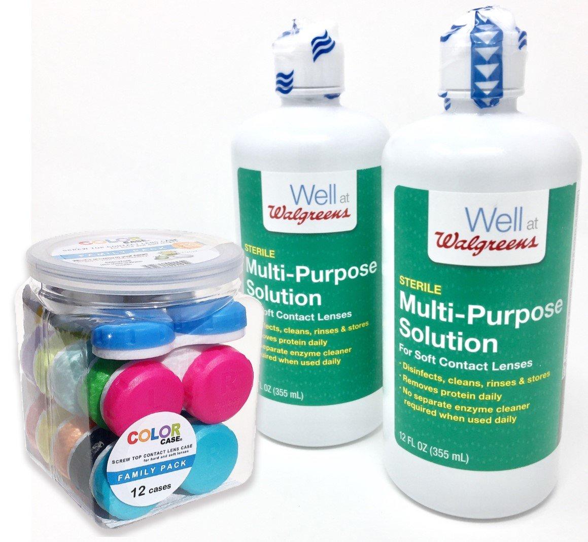 amazon com walgreens contact lens solution for soft contact