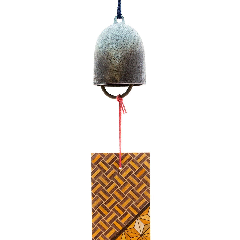 [Odawara Furin] (a wind-bell) cricket wind chimes parquet strip with brass KASHIWAGI ART FOUNDRY