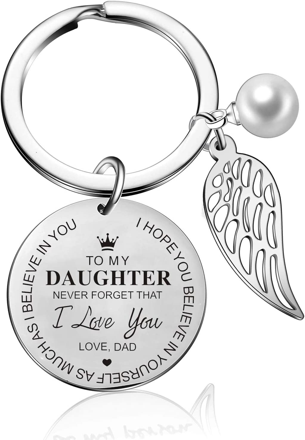 Mother and Daughter keychain,A-Z Initial keychain,Name keychain,personalized Keychain,key with initial,Family gift,Love forever,Gift for Mom