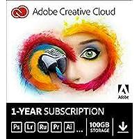 Adobe Creative [Photoshop 2020, Indesign 2020 , Illustrator 2020..All Apps 12 Months, immediately per E-Mail via Amazon…
