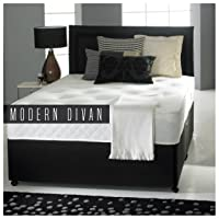 reliance ortho divan bed double with 2 drawers