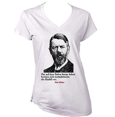 Teesquare1st Max Weber Arbeit Zitate Camiseta Para Mujer De