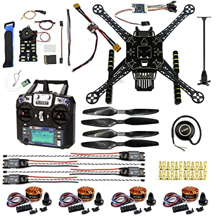 CS PRIORITY DIY Drone S600 4-Axis Rack Quadcopter Frame Kit with