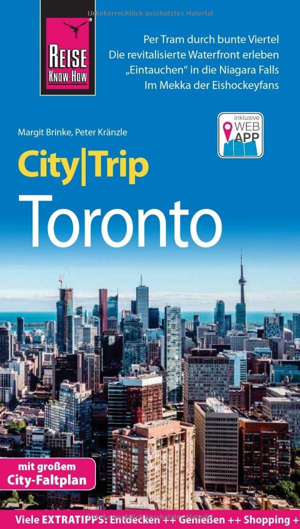 Reise Know How CityTrip Toronto  Reiseführer Mit Stadtplan Und Kostenloser Web App