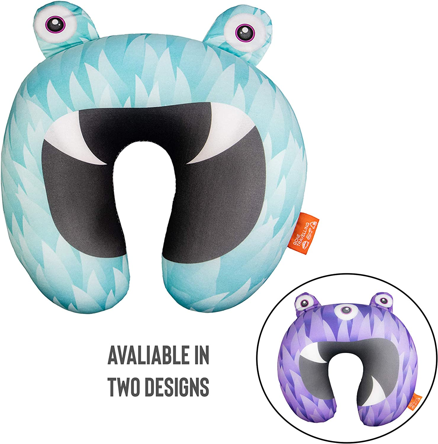 Gone Travelling Kids Travel Pillow