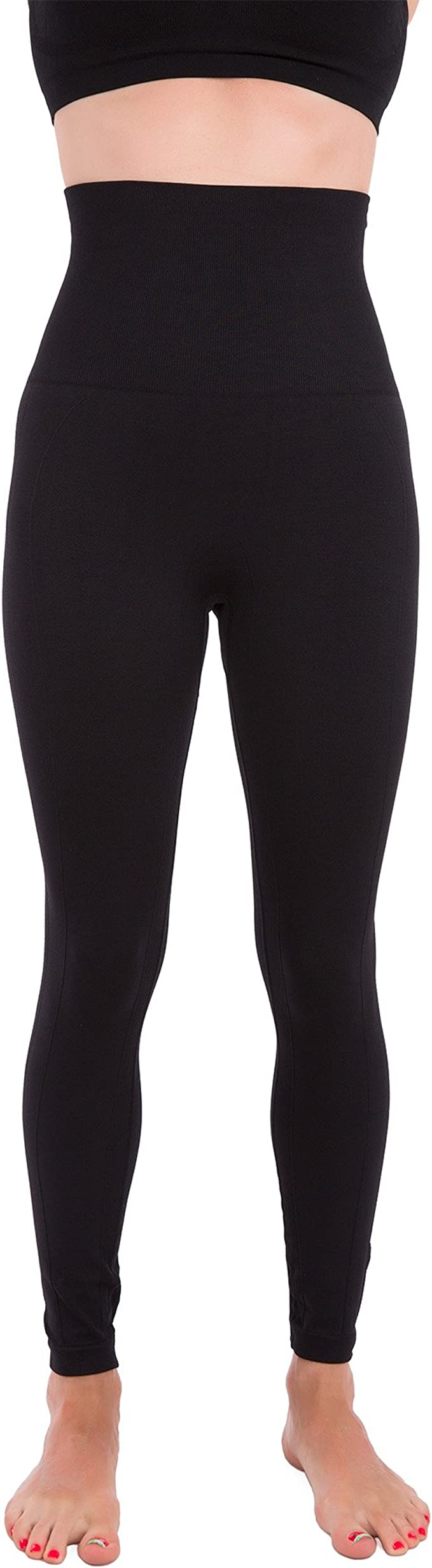 Lasting Warmth S Black GRGM Super Thick Cashmere Leggings High Waist Pants Thick Warm Pants /& Windproof and Cold