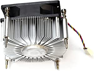 "3VRGY G8CNY Tower Dell Optiplex 3020 7010 9010 95W Processor 3MM Aluminum Heatsink 2.5MM Black Fan w/4-Pin White Header 4-Wire Red Black Blue Yellow 3"" Cable Assembly 95W CPU"