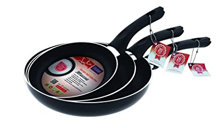 Jata Hogar - Set Of Full Induction Frying Pans, Non-Stick Coating ...