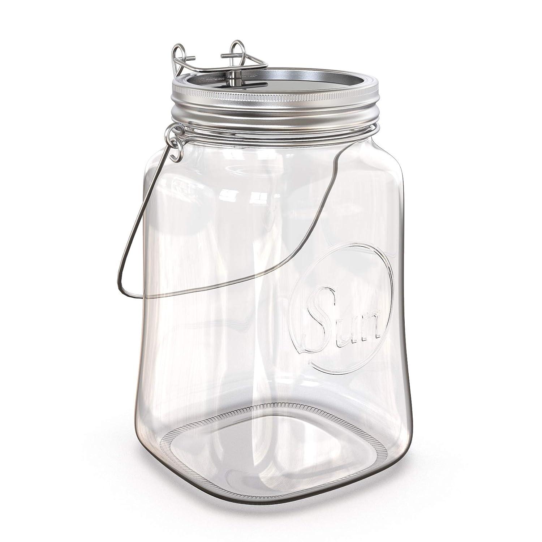 LED Sun jar I Solar light I Luz Decorativa I I I La Luz Solar I Función Magnética I Lámpara solar I Summer Table Light 600f2a