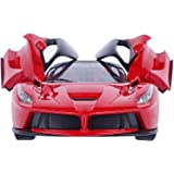 Yeehaw Remote Control Ferrari R/C Car with Openable Doors and Rechargeable Batteries for Kids (Color May Vary)