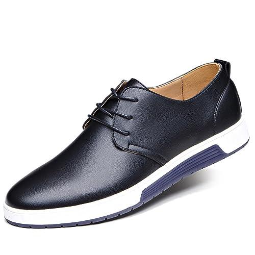 Zapatos Hombre Mocasines Mocasines de Cuero de los Hombres Zapatos Casuales de los Hombres Zapatos Respirables de Cuero Zapatos Planos de Lujo para los ...